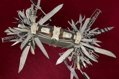 Super Ultimate Swiss Army Knife That Even Includes A Gun