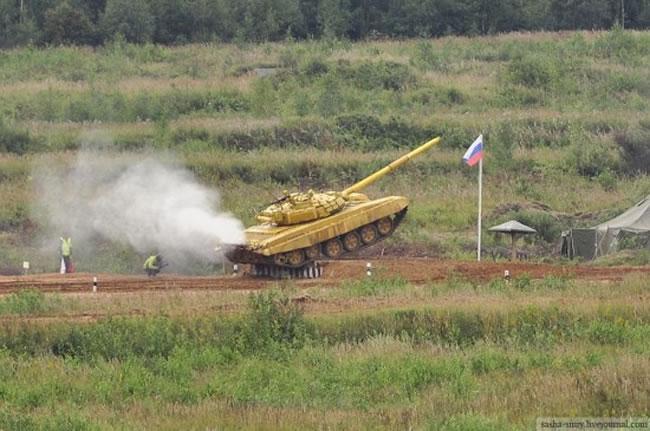 Tank Racing Games Kick Off In Russia 2