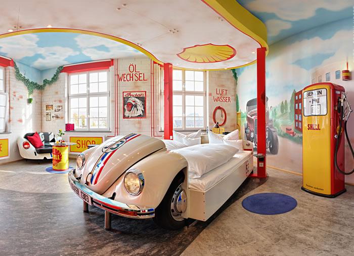 The V8 Hotel In Stuttgart Germany