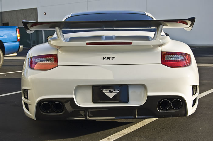 Vorsteiner VRT Porsche 911 Turbo Pictures And Details 4
