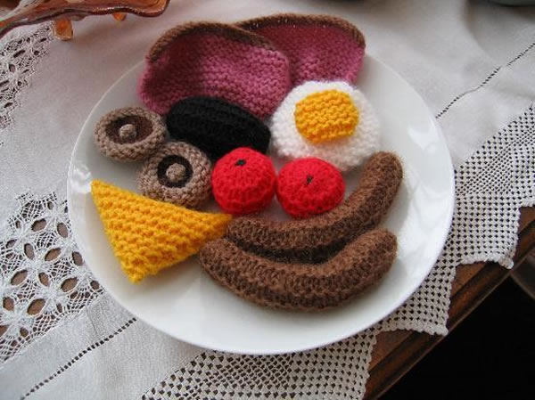 full english breakfast crafts and arts 2