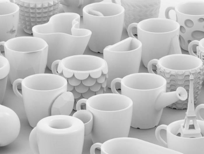 3d printed coffee cupd