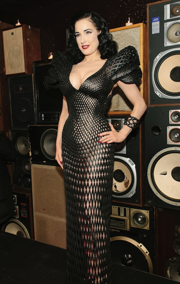 3d printing dress