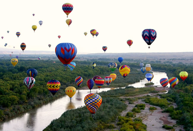 Albuquerque International Balloon Festival — Albuquerque, N