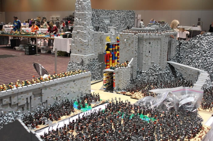 ... this the most amazing Lego Lord Of The Rings build you have ever seen