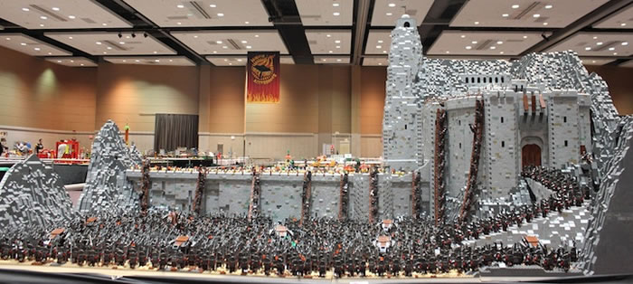 Amazing Lego Lord Of The Rings Build Is Mind Blowing
