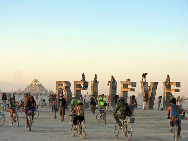 Burning Man — Black Rock City, Nev