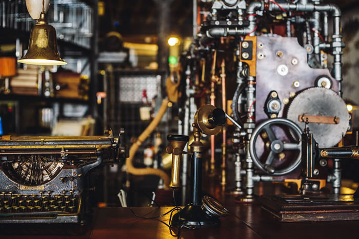 Steampunk Cafe Coffee House Design  Steampunk Cafe