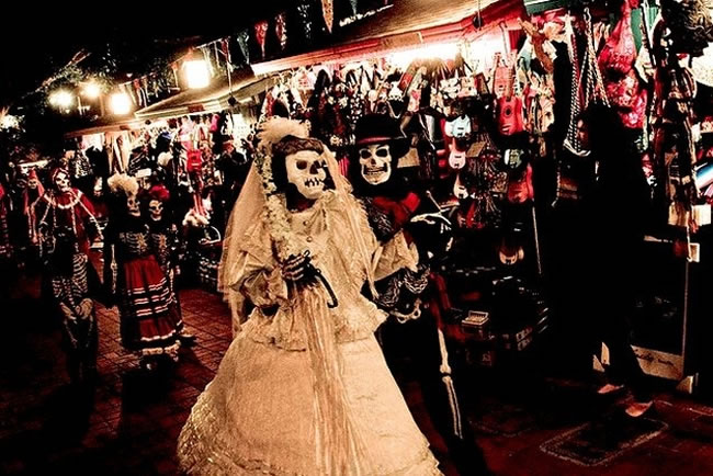 Dia De Los Muertos — Celebrated by Mexicans in the U