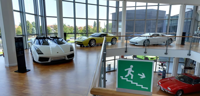 Get On Google Maps And Visit The Lamborghini Museum In Italy 2
