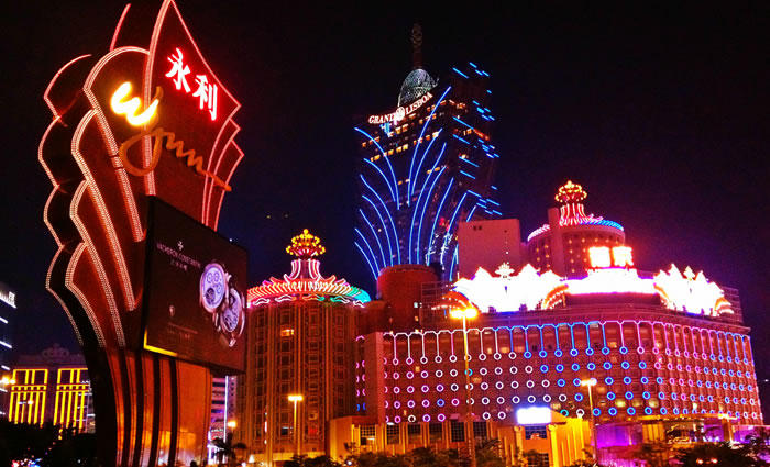 china tourism - macau