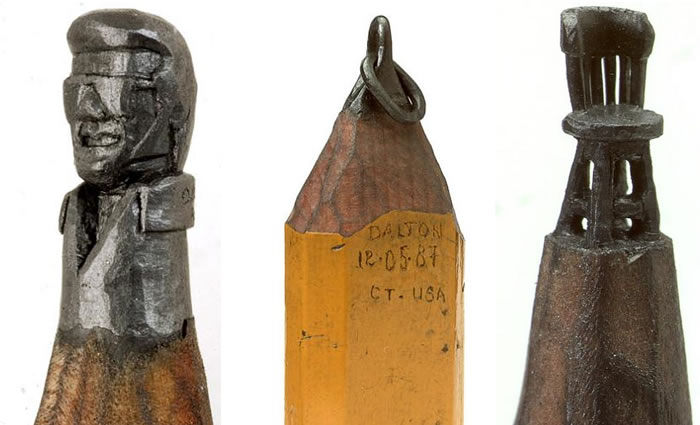 pencil tip sculptures (3)