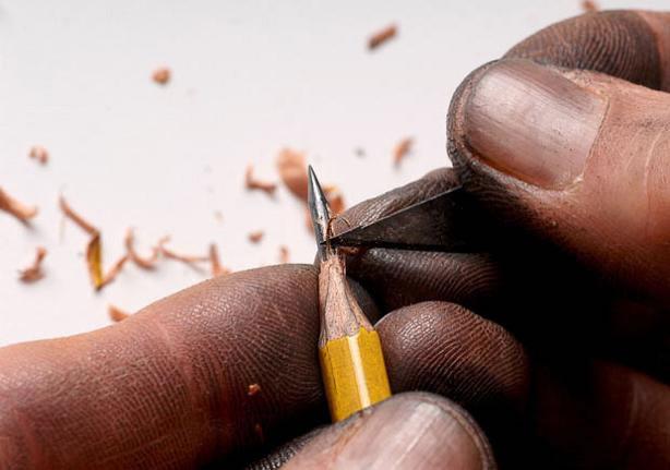 pencil tip sculptures (6)