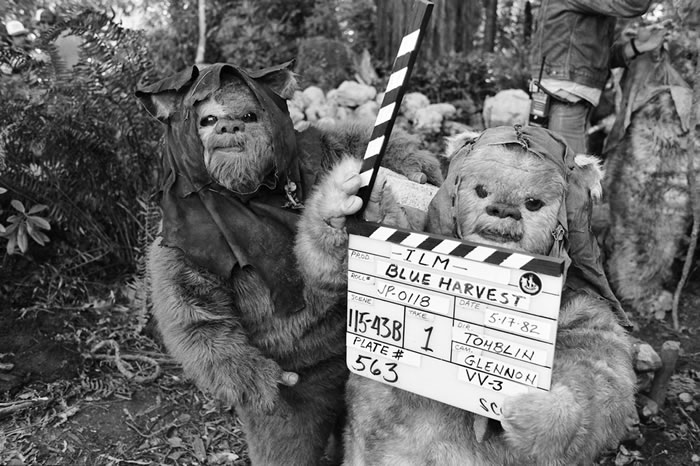 star wars return of the jedi behind the scenes 8
