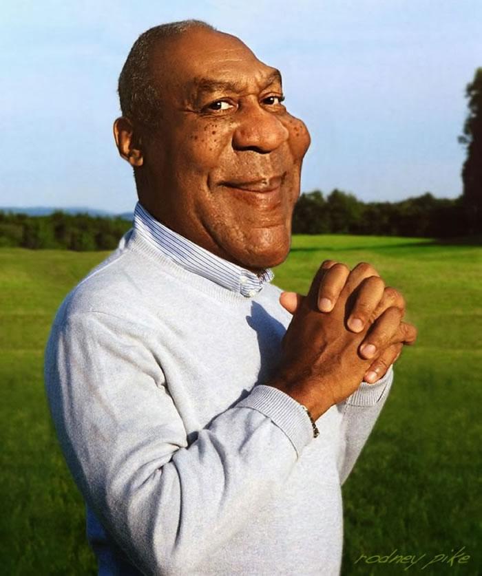 9 Custom Portraits 15 Crazy Celebrities Caricatures Bill Cosby