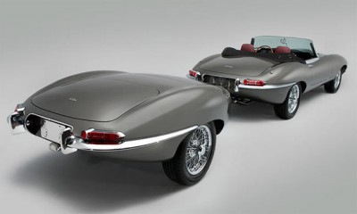 Jaguar Classic E type Restored And Stretched
