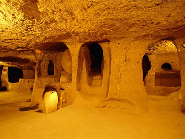 Turkey Tours Intriguing Ancient Underground City Derinkuyu (11)