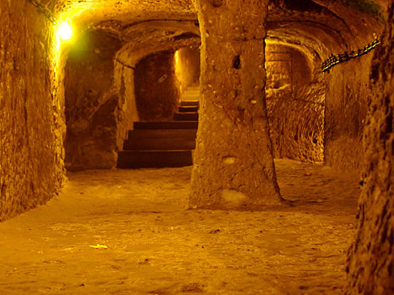 Turkey Tours Intriguing Ancient Underground City Derinkuyu (6)