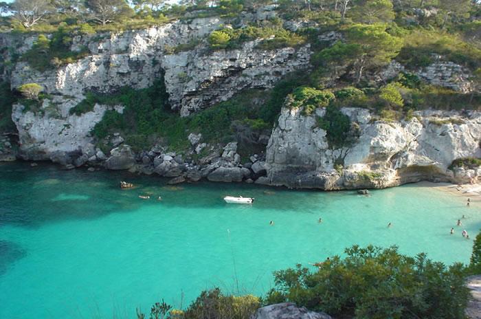 playa-macarelletamenorcaspain