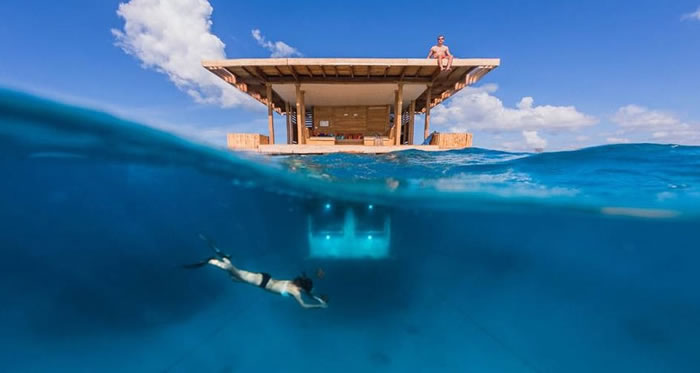 Island Hotels - Underwater Bedroom Lets You Sleep With The Fishes