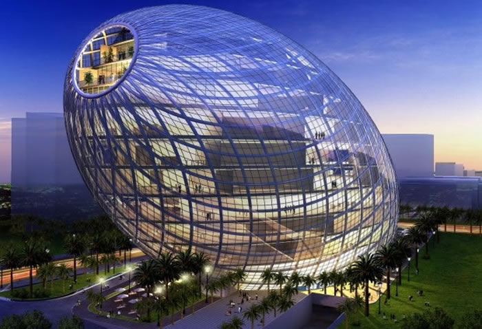 1 Cybertecture Egg Mumbai, India - Online Architecture Gallery Top 50 Most Amazing Designs In The World