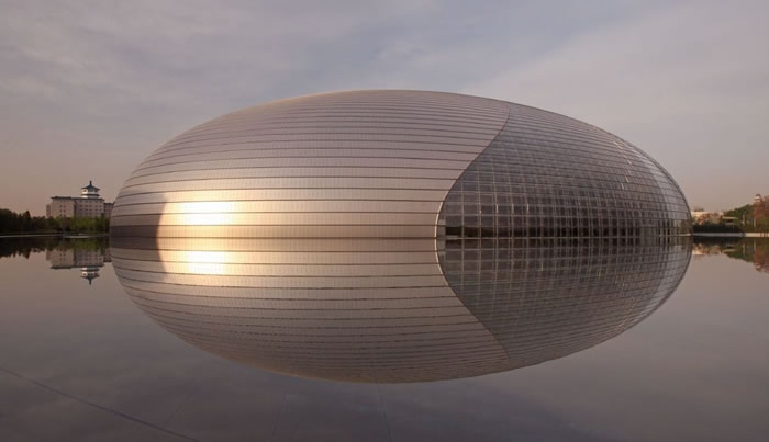 13 National Theatre Beijing, China - Online Architecture Gallery Top 50 Most Amazing Designs In The World