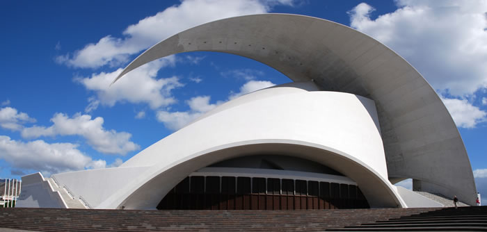 16 Tenerife Concert Hall Santa Cruz de Tenerife, Canary Islands, Spain - Online Architecture Gallery Top 50 Most Amazing Designs In The World