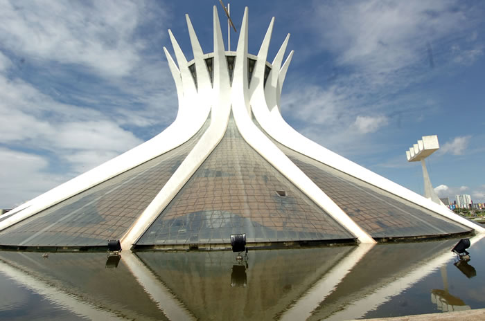 21 Cathedral of Brasília - Online Architecture Gallery Top 50 Most Amazing Designs In The World