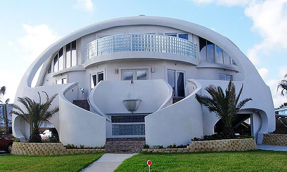22 Dome House Florida, United States - Online Architecture Gallery Top 50 Most Amazing Designs In The World