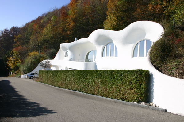 23 Earth House Lostorf, Switzerland - Online Architecture Gallery Top 50 Most Amazing Designs In The World