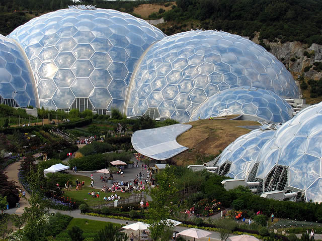 24 Eden project United Kingdom - Online Architecture Gallery Top 50 Most Amazing Designs In The World