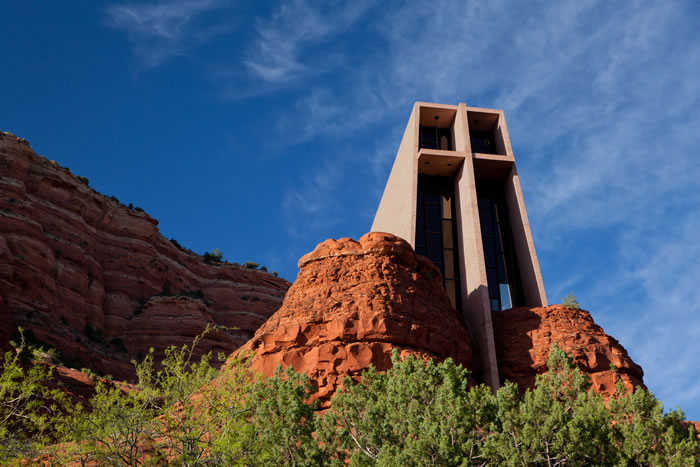 25 Chapel In The Rock, Arizona, United States - Online Architecture Gallery Top 50 Most Amazing Designs In The World