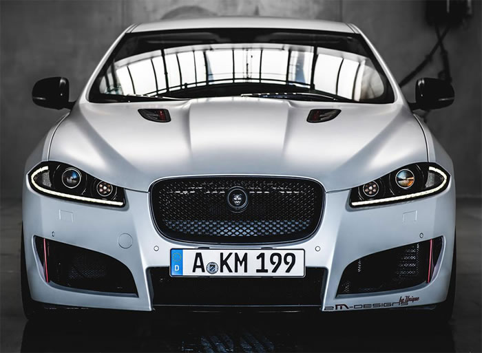 jaguar xf tuned by 2m designs car of the day