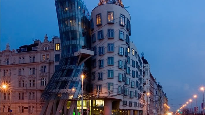 35 Dancing Building, Prague,Czech Republic - Online Architecture Gallery Top 50 Most Amazing Designs In The World