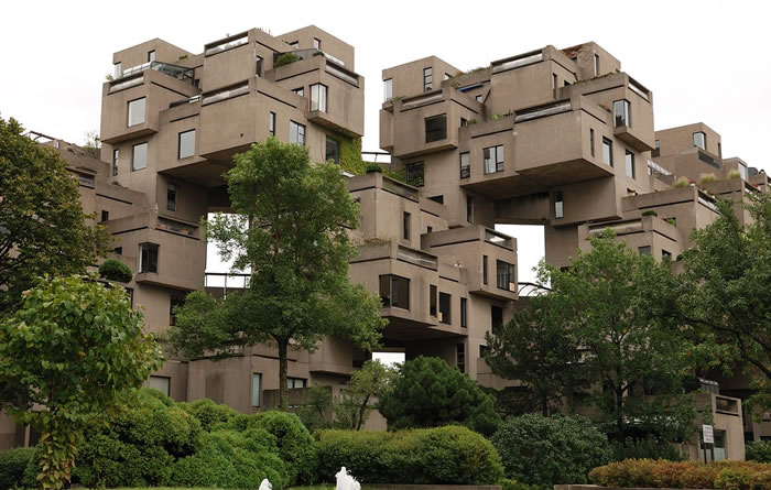 43 Habitat 67  Montreal, Canada - Online Architecture Gallery Top 50 Most Amazing Designs In The Wor