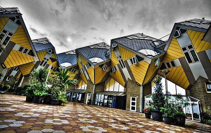 45 Cubic Houses, Rotterdam, Netherlands - Online Architecture Gallery Top 50 Most Amazing Designs In The Wor