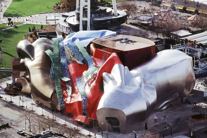 5 Experience Music Project, Seattle,WA,USA - Online Architecture Gallery Top 50 Most Amazing Designs In The World
