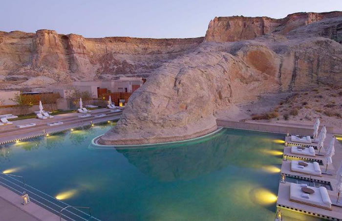Amangiri, Canyon Point, Utah - World Vacations Spots