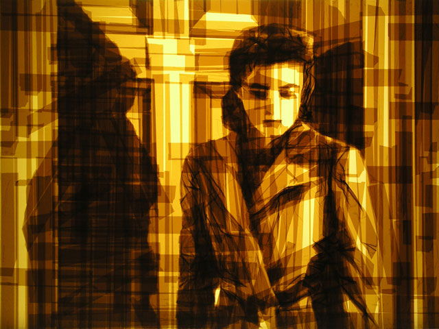 Amazing Graphic Arts Made With A Roll Of Packing Tape (5)