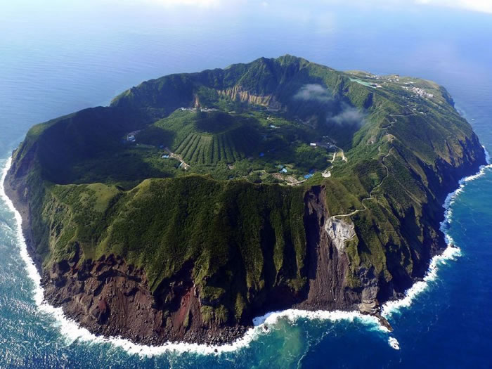 Aogashima, Volcanic Japanese Island -World Vacations