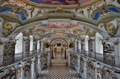 Austria Vacation – World's Largest Monastery Library