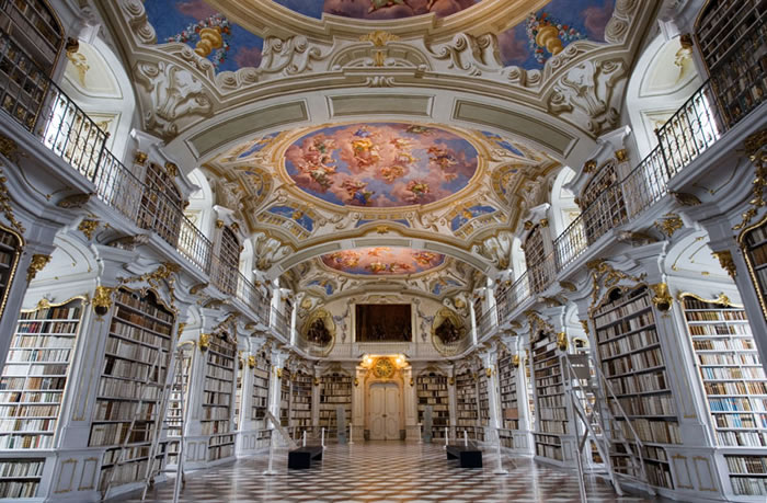 Austria Vacation Largest Monastery Library In The World (2)