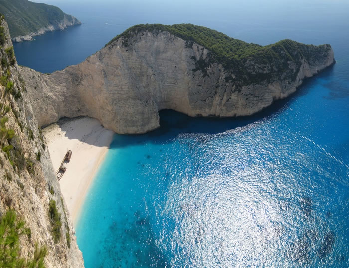 Beautiful beaches of Greece Zakynthos - World Vacations Spots