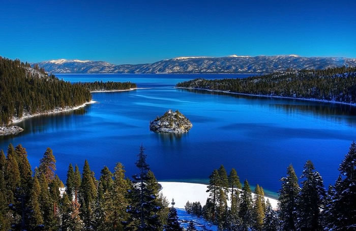Emerald Lake – Lake Tahoe - Beautiful World Vacations Spots To Visit Before You Die