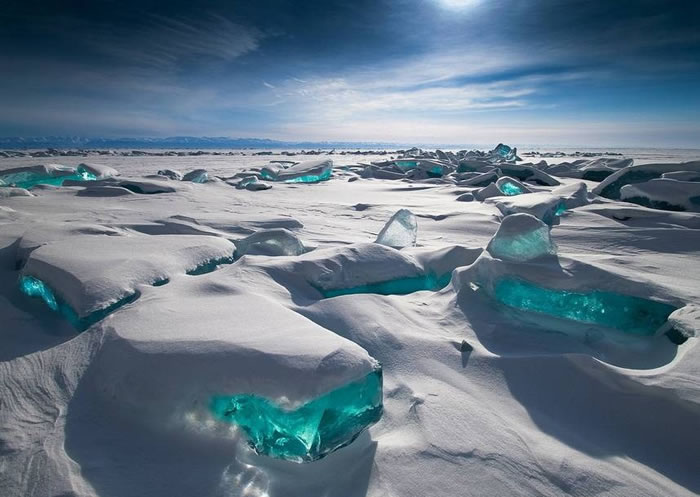 Frozen Lake Baikal, Siberia, Russia - World Vacations
