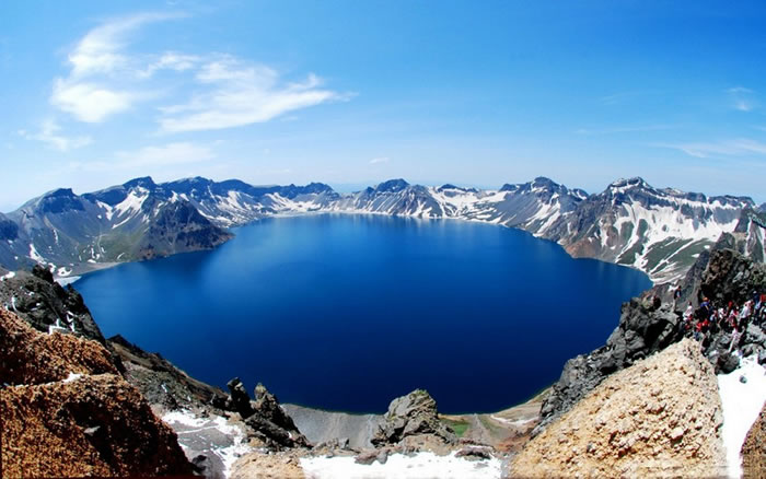 Heaven Lake, North Korea and China border
