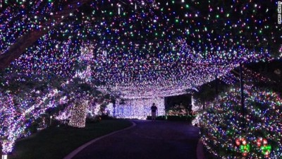 Christmas Lights World Record Set By Australian Family
