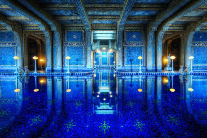 blue-indoor-tiled-roman-pool-hearst-castle