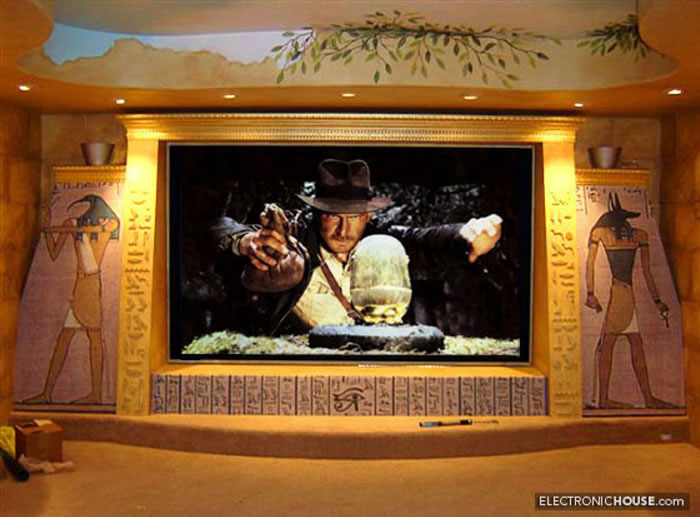 10 Awesome Home Theater Designs You Would To Watch Movies In 1