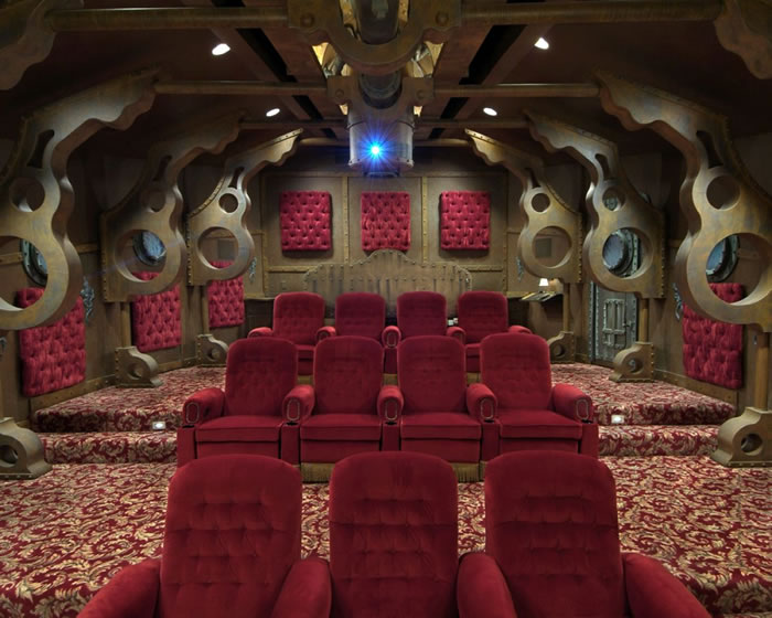 10 Awesome Home Theater Designs You Would To Watch Movies In 10